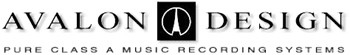 Avalon Design : Pure Class A Music Recording Systems