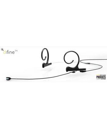 DPA d:fine Dual-Ear Omnidirectional, 110mm boom