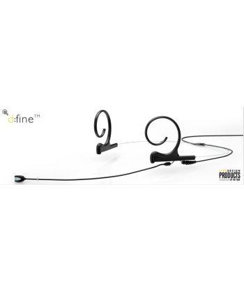 DPA d:fine Dual-Ear Directional, 120mm boom
