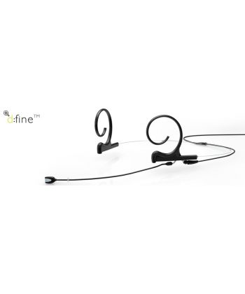 DPA d:fine Dual-Ear Omnidirectional, short 90mm boom
