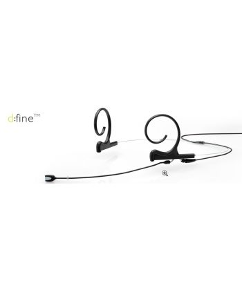 DPA d:fine Dual-Ear Directional, short 100mm boom