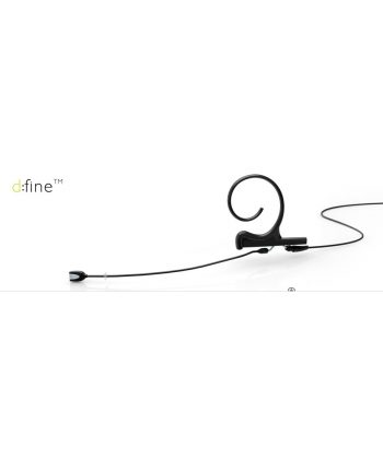 DPA d:fine Single-Ear Omnidirectional, short 90mm boom